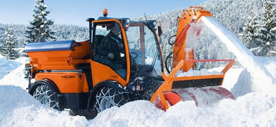 Anbaugeräte Winter – Produkte THG AG