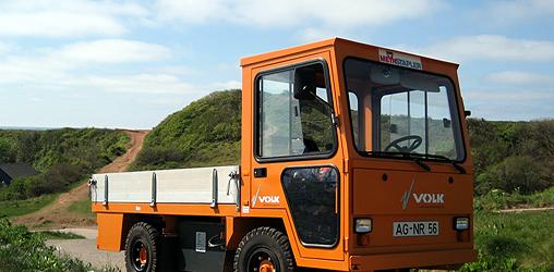 Geräteträger mit Gasmotor – Produkte THG AG