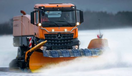 Aktuelles: THG AG delivers to the Almaty International Airport (Kasachstan) a Compact Jet Sweeper CJS 916