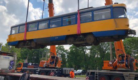 Aktuelles: Компания THG AG поставляет трамваи в г. Днепр (Украина)