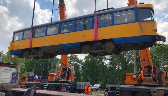 THG AG liefert Straßenbahnen an die Stadt Dnepro, Ukraine
