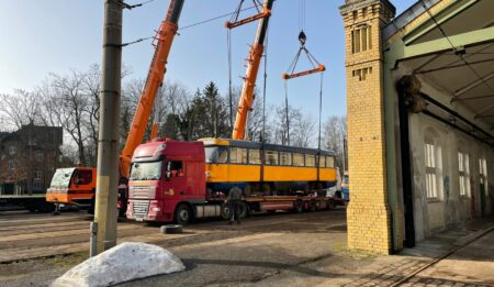 Aktuelles: THG AG delivers trams to the city of Dnipro in Ukraine