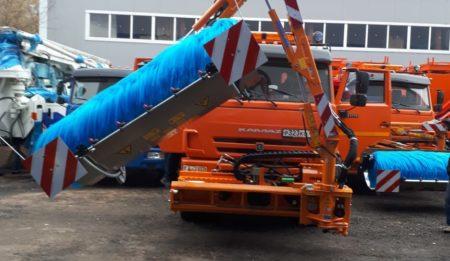 Aktuelles: Компания THG AG поставила ООО «Мизатеф»  г. Миасс (Россия) четыре машины для мойки тоннелей