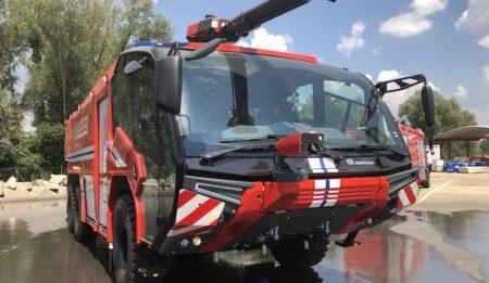 Aktuelles: Die Fa. THG hat einen Vertrag mit dem Flughafen Borispol über die Lieferung von 2 Flughafenfeuerwehren des Typs Panther abgeschlossen