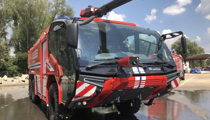 Компания THG AG заключила контракт с «Международным аэропортом Борисполь» на поставку двух аэродромных аварийно-спасательных пожарных автомобилей типа Panther