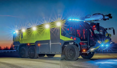 Aktuelles: THG AG concluded a contract for delivery of four firefighting trucks to Minsk, Belorussia
