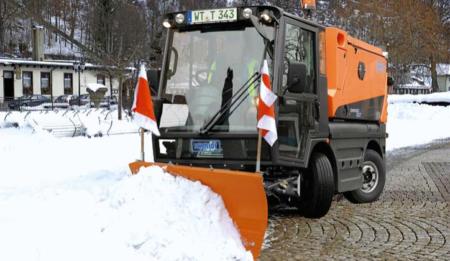 Aktuelles: THG AG liefert Kommunaltechnik der Firma Aebi-Schmidt an die Stadt Dnepropetrovsk