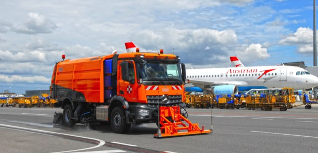 Kehrmaschinen Flughafen
