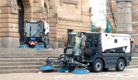 Aktuelles: THG AG concluded a contract for delivery of a road sweeper Swingo 200 to Minsk