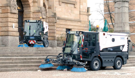 Aktuelles: THG AG concluded a contract for delivery of two road sweepers Swingo 200 to Minsk