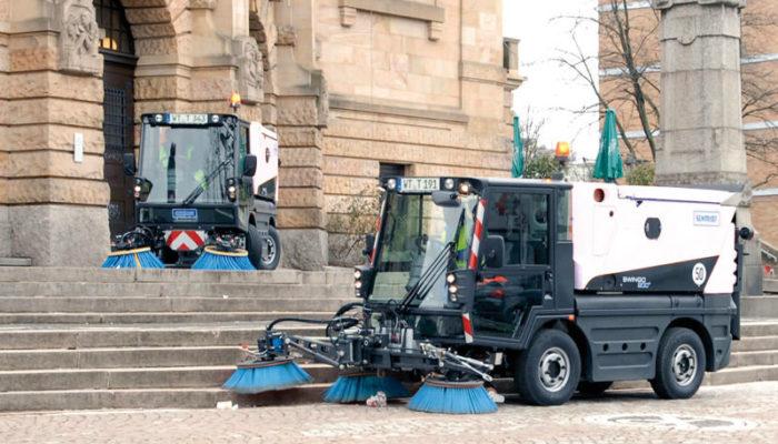 Die THG AG hat einen Vertrag über die Lieferung von einer Swingo 200-Kehrmaschine nach Minsk abgeschlossen